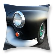 Lean Mean Racing Machine Throw Pillow by Sarah Lamoureux