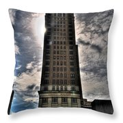 Liberty Building Throw Pillow