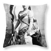 Lillian Russell (1861-1922) Throw Pillow