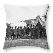 Lincoln & Mcclellan Throw Pillow