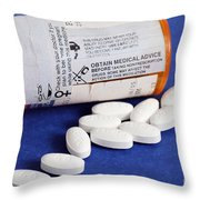 Lipitor Throw Pillow
