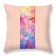 Little Miracles Throw Pillow by Rachel Christine Nowicki