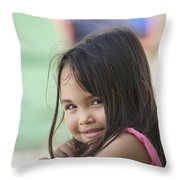 L.j. Throw Pillow