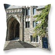 Lockhart Hall Princeton Throw Pillow
