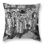 Lockwood Campaign, 1884 Throw Pillow