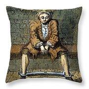 London: Debtors Prison Throw Pillow