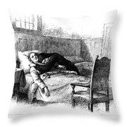 Longfellow: Evangeline Throw Pillow