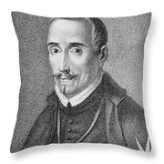 Lope De Vega (1562-1635) Throw Pillow