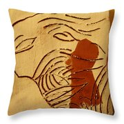 Lost - Tile Throw Pillow