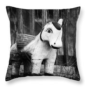 Lost Pony Throw Pillow