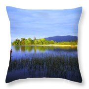 Lough Gill, Co Sligo, Ireland Throw Pillow