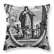 Louis, Dauphin Of France Throw Pillow