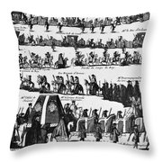 Louis, Duke Of Burgundy Throw Pillow