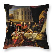 Louis Xiv (1638-1715) Throw Pillow