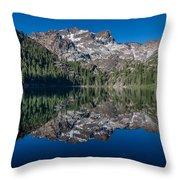 Lower Sardine Lake  Throw Pillow
