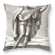 Lute, 1723 Throw Pillow