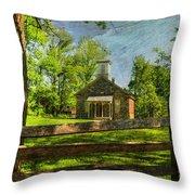 Lutz-franklin Schoolhouse Throw Pillow