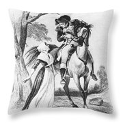 Lydia Darragh, American Patriot Throw Pillow