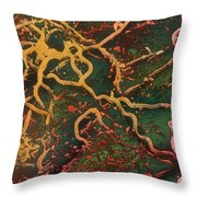 Lyme Disease Sem Throw Pillow