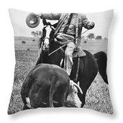 Lyndon Baines Johnson Throw Pillow