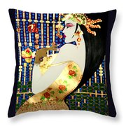 Ma Belle Salope Chinoise No.13 Throw Pillow