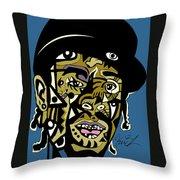 Mac Dre Throw Pillow