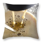 Making A Coffee Throw Pillow