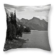 Maligne Lake Throw Pillow