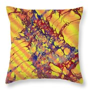 Marbled Paper Throw Pillow