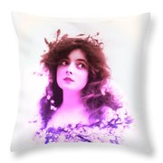 Marie Doro 1902 Throw Pillow