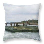Marines And Sailors Tow An Improved Throw Pillow