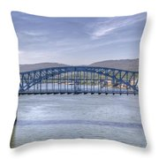 Market Street Bridge Throw Pillow
