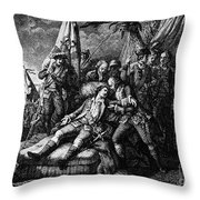 Marquis De Montcalm Throw Pillow