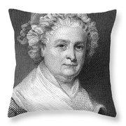 Martha Washington Throw Pillow