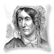 Mary Somerville, Scottish Polymath Throw Pillow