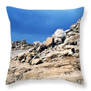 Masada Throw Pillow