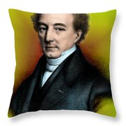 Mathieu Orfila, Spanish-french Throw Pillow