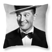 Maurice Chevalier Throw Pillow
