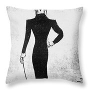 Max Beerbohm (1872-1956) Throw Pillow
