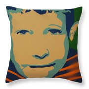 Max Throw Pillow by Michael Ringwalt