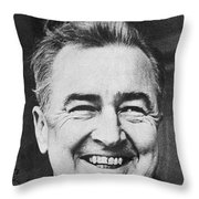 Mccarthy Campaign, 1968 Throw Pillow