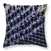 Members Of The U.s. Air Force Academy Throw Pillow
