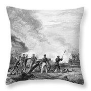 Mexican War: Palo Alto Throw Pillow