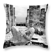 Mexico: Chichen Itza Throw Pillow