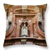 Mezquita Cathedral Architectural Details Throw Pillow