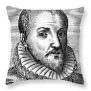 Michel Eyquem De Montaigne Throw Pillow