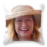 Michelle Throw Pillow