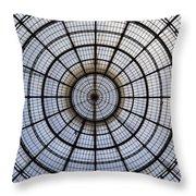 Milan Galleria Vittorio Emanuele II Throw Pillow by Joana Kruse