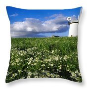 Millisle, County Down, Ireland Throw Pillow