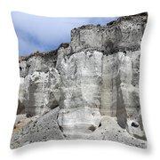 Minoan Eruption Deposits, Mavromatis Throw Pillow